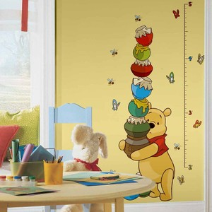 Pooh & Friends Growth Chart Wall Decals