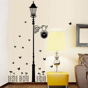 Corridor Lamp Wall Decal
