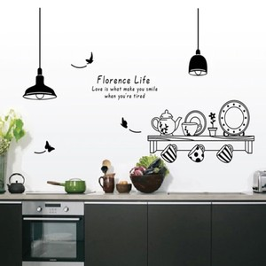Florence Life Kitchen Tea Cup Wall Decal
