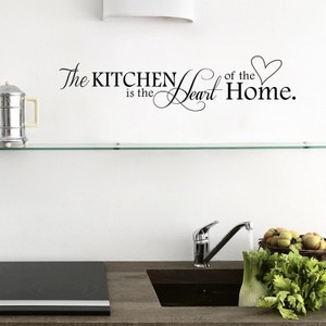 The Kitchen is the Heart of the Home Quote