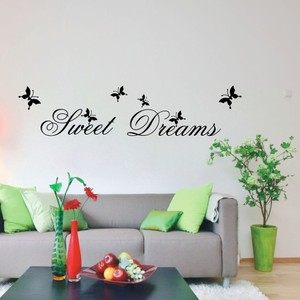 Sweet Dream Quote Wall Decal