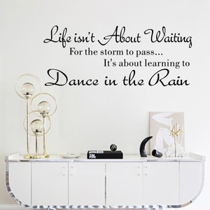 Dance in the Rain Quote
