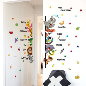 Animals Greetings Wall Decal
