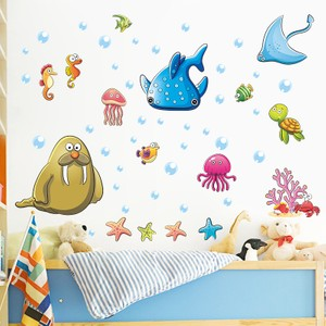 Whale Shark Walrus Wall Decal