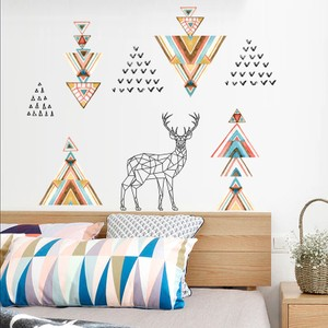 Lovely Deer Elk Art Wall Decal