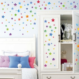 Colorful Stars Wall Decal