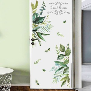 Fresh Green Leaf Wall Decal