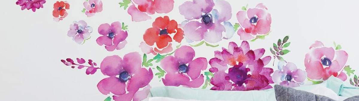 Shop Flowers and Trees Wall Decals